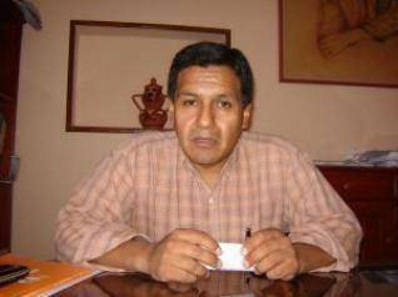 """Blas Cardozo, Secretario General del CEDEMS: """"Una vez más hemos sido defraudados por el Ministro de Hacienda""""."""