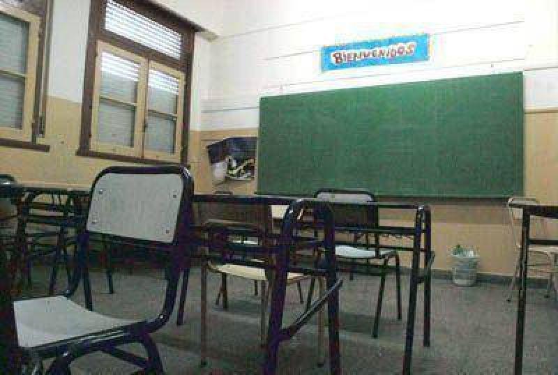Las clases comenzaron para pocos