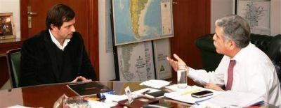 El intendente Bucca se reunió nuevamente con De Vido por el Plan de Obras 2012 -2013