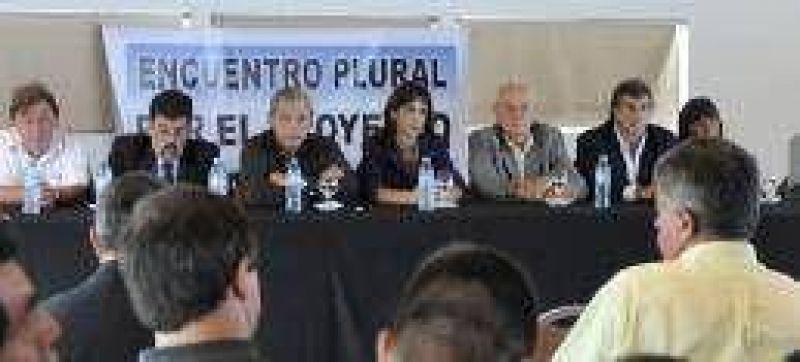 Maria Eugenia Bielsa y Cavallero presentaron su espacio electoral