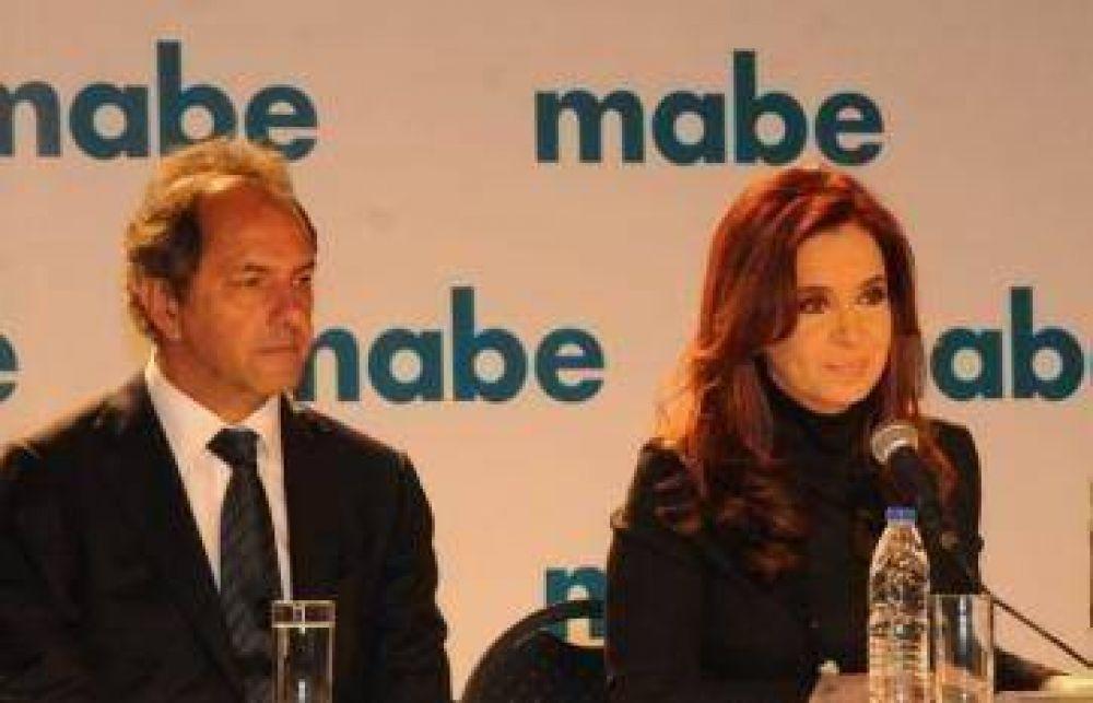 Scioli acompañó a CFK en Morón