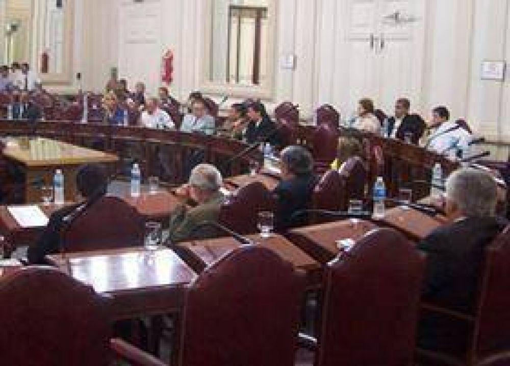Los diputados aprobaron tres leyes y declaraciones.