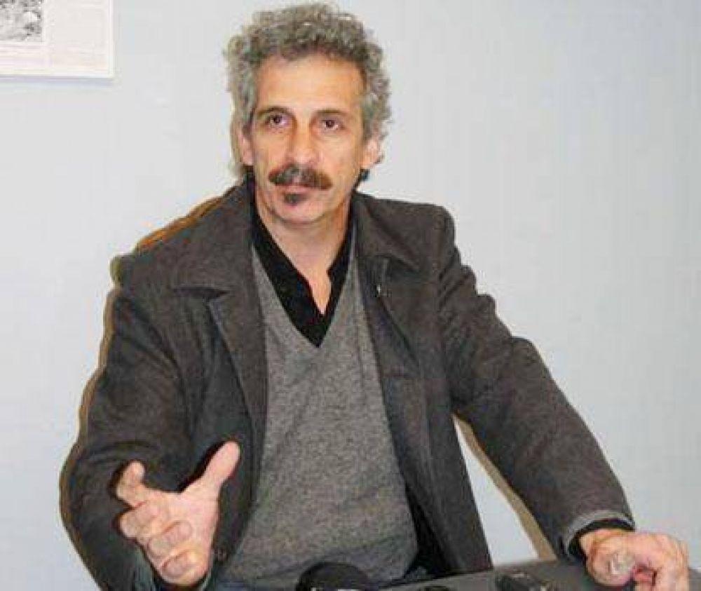 El sindicalista Daniel Pérez Guillén estuvo en Azul