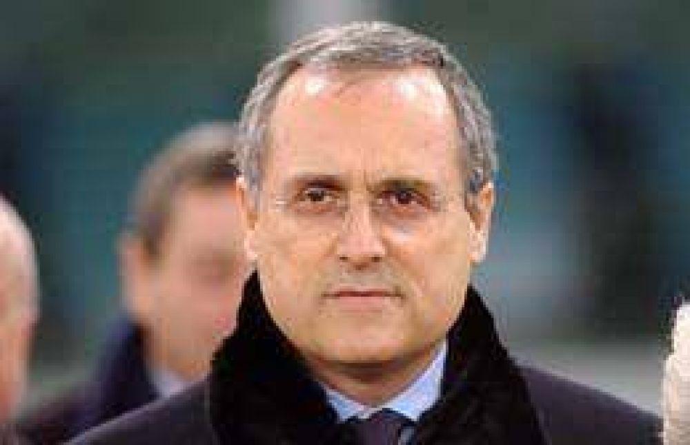 Condenan a 2 años de prisión al presidente de la Lazio.