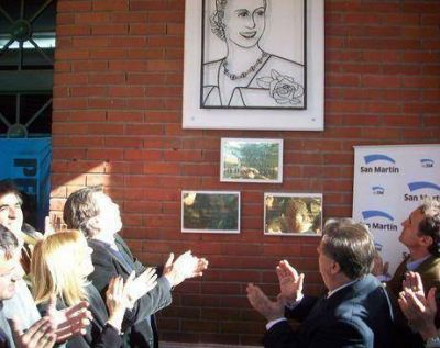 Sin Scioli, la Provincia realizó su homenaje a Evita en San Martín