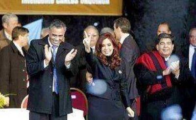 La Presidenta recordó a Evita en José C Paz