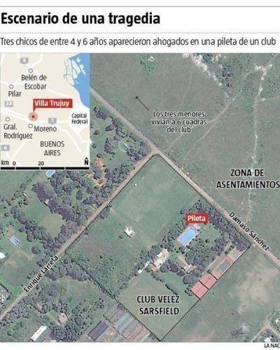 Furia en Moreno por tres chicos ahogados