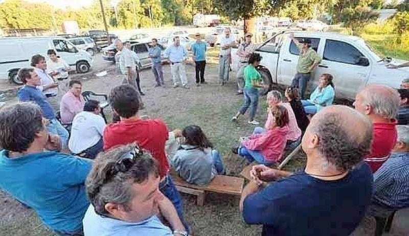 Productores de Sinsacate realizaron una asamblea sin cortes
