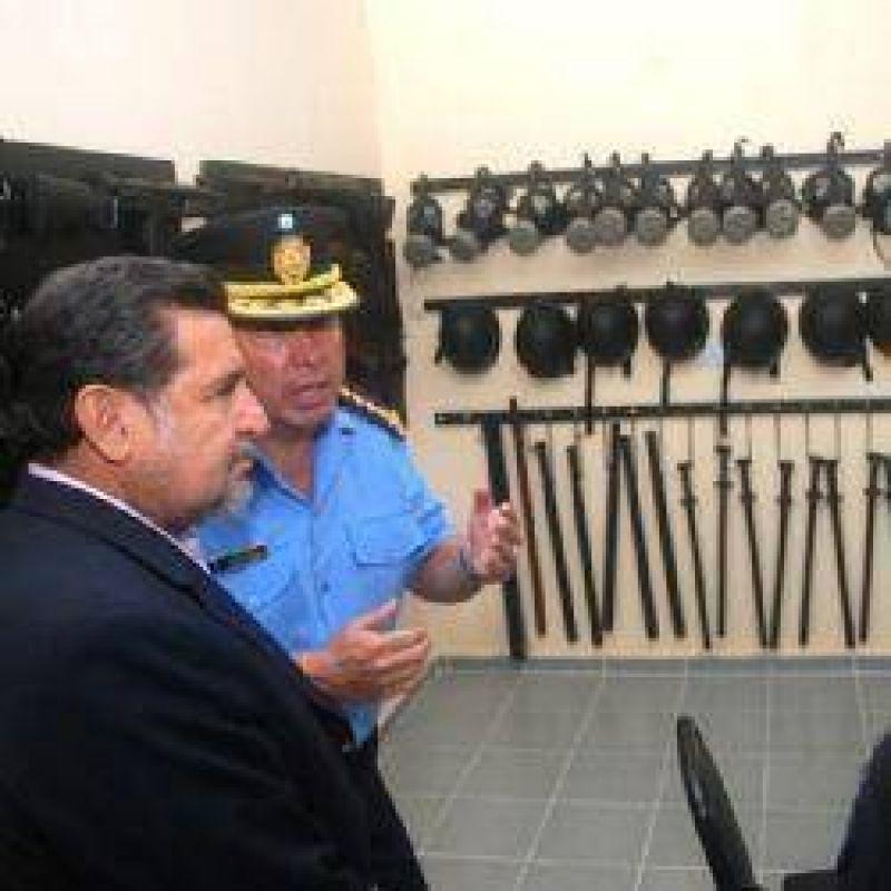 Otro respaldo del gobierno a la polic�a: nueva sede para el BAO