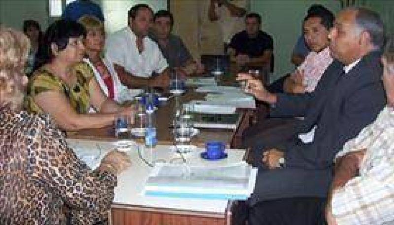 Ediles y jefe militar abordaron Proyecto de expansión urbana.