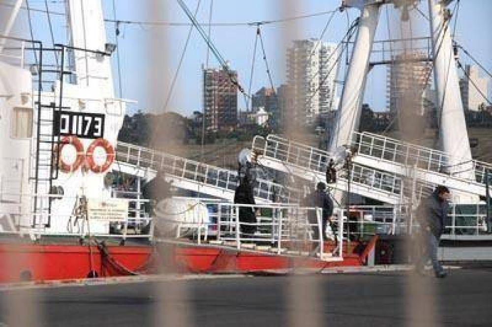 Se trabajó intensamente para alistar a los barcos y salir al mar
