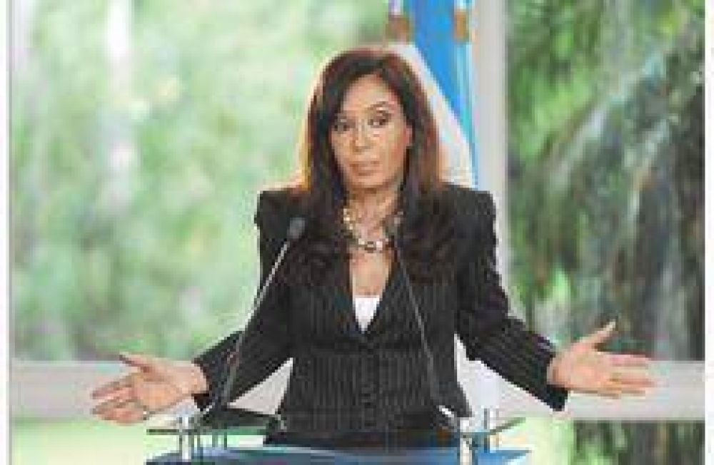 Giro en el discurso presidencial: Cristina habla ahora de la inseguridad