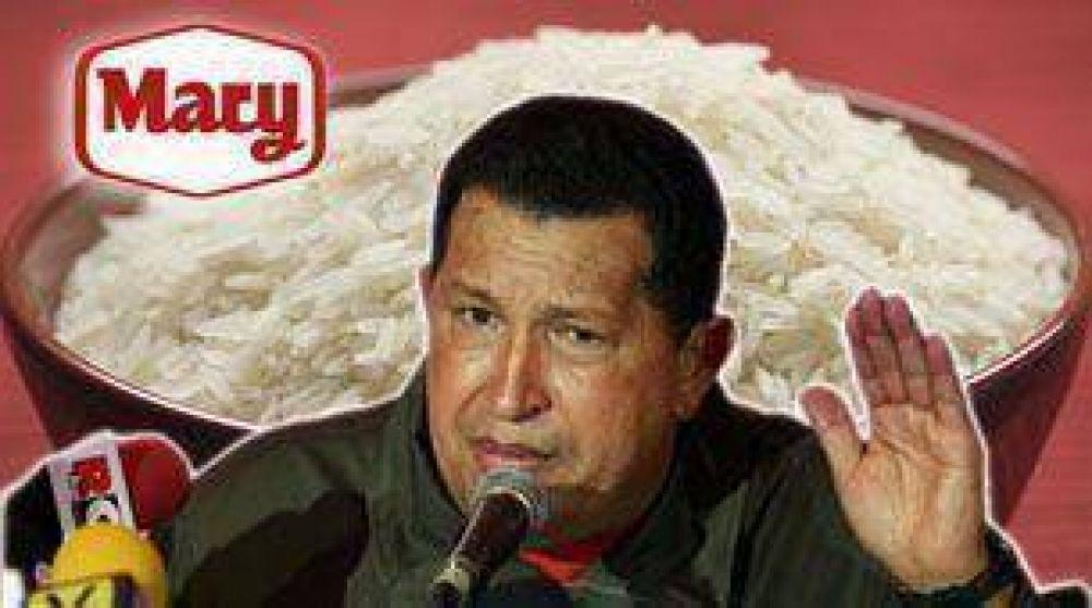 Chávez expropia otra planta productora de alimentos