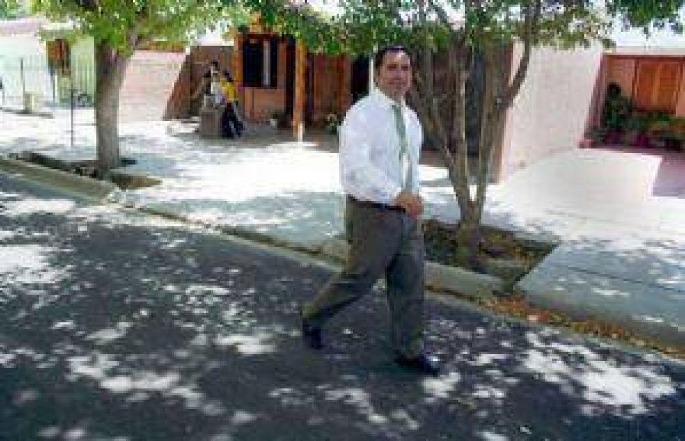 Rodríguez Saá inaugura obras en Mendoza