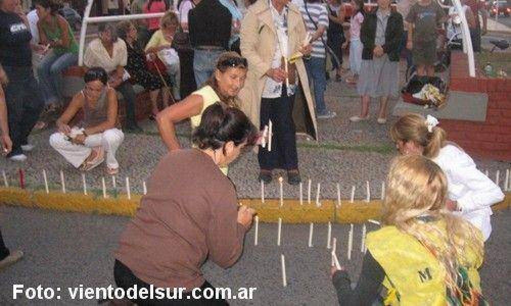 En contra del tarifazo, se manifestaron en el micro centro.
