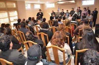 La juventud bederista manifestó su apoyo a la candidatura de Beder Herrera al frente del PJ