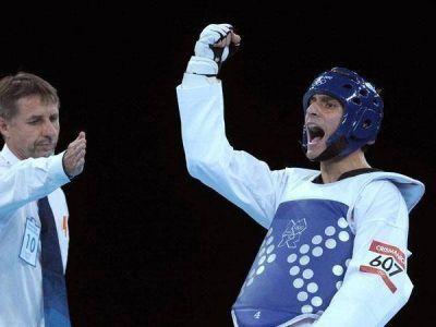 Taekwondo: Sebastián Crismanich ganó y pasó a los cuartos de final