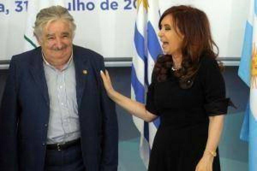 """Dragado: Mujica dijo que busca acordar """"de alguna manera"""" con Argentina"""