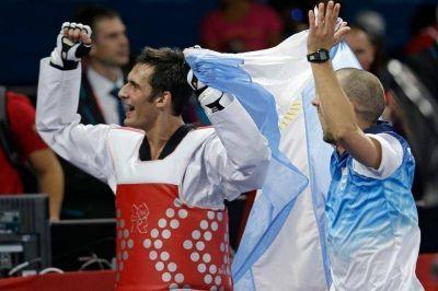 Tras el oro, Crismanich será el abanderado argentino en la clausura