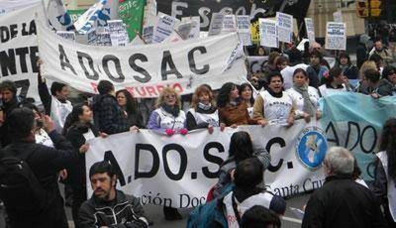 Desde ADOSAC ratificaron la medida de fuerza para el 15