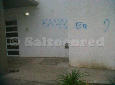 Actos vandalicos en escuela N° 501