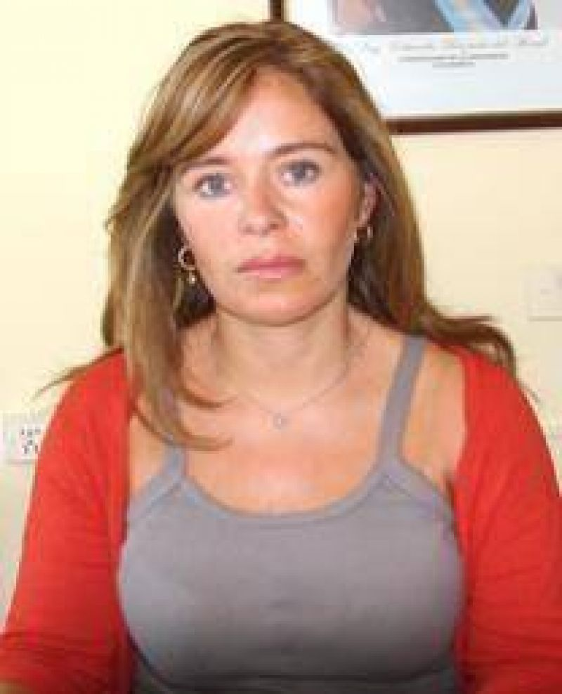 Fabiola Garrot, otra frentista optimista.