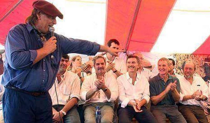 Una feria de empresarios rurales se convirtió en la meca de la oposición