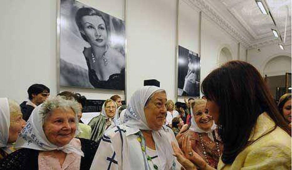CFK inauguró el Salón de las Mujeres en la Rosada