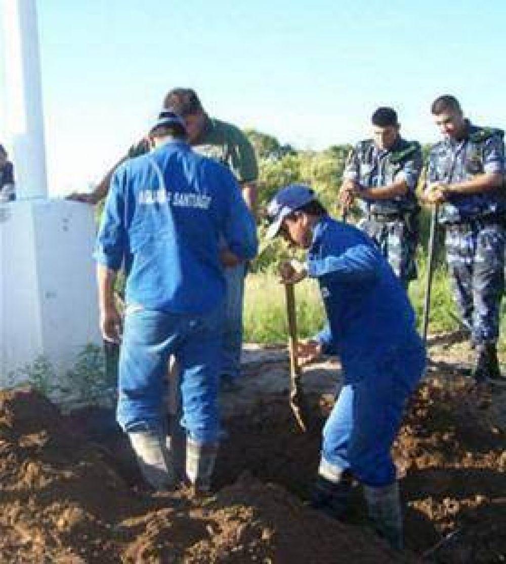 Hurto de agua afectó a miles de pobladores.