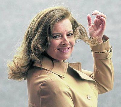 La primera dama, un problema para el presidente de Francia