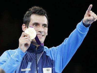 Llega hoy al país Crismanich, el único oro argentino en Londres 2012