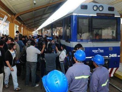 El tren urbano cambió su destino y agregó una frecuencia