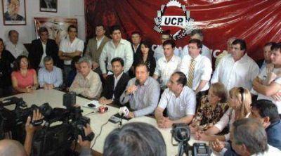 Pacto Fiscal: Rozas sostuvo la necesidad de �apoyar al gobernador en esta lucha por recuperar nuestro dinero�