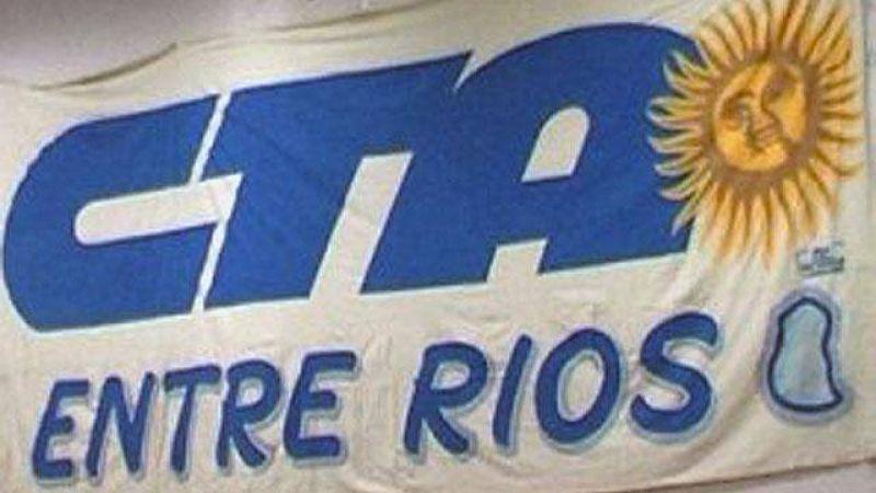La CTA entrerriana anunció un paro con movilización para el 5 de septiembre
