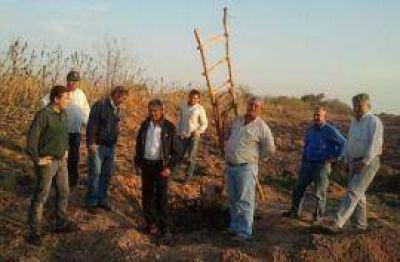 Gutiérrez preocupado por el abandono a los productores