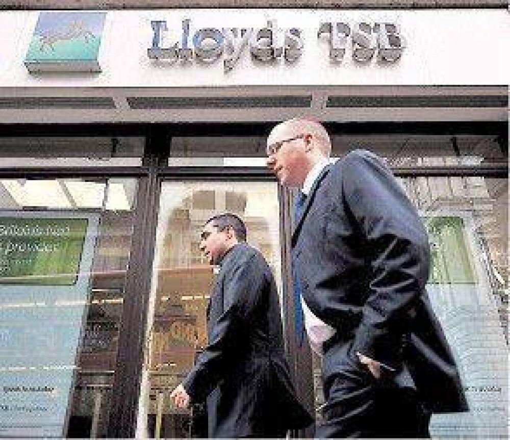 El grupo británico Lloyds, al borde de la nacionalización