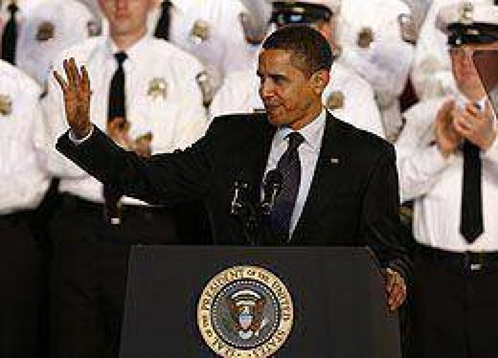 Obama espera en 2009 instalar los