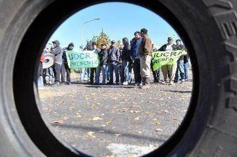 Tregua hasta el martes por el conflicto en Plottier