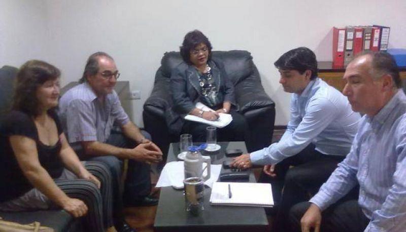 El gremio de Judiciales llevó a Femenia propuestas para redistribuir la recaudación del Poder