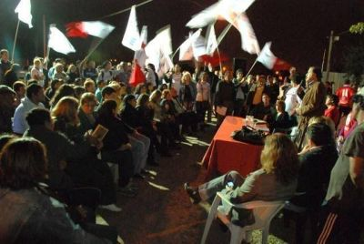 Convergencia se reunió con referentes de Resistencia