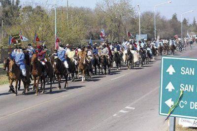 Hoy será la cabalgata en homenaje a San Martín