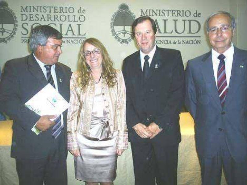 La Municipalidad firmó convenio con el Ministerio de Desarrollo Social