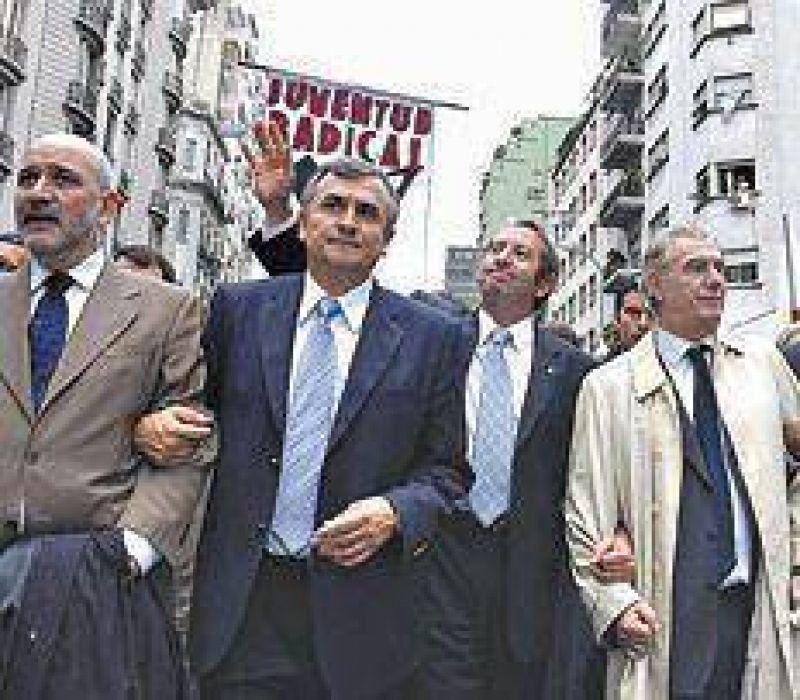 Intendentes radicales buscan la unidad.