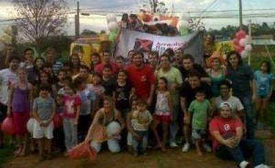 La UCR realizó actividades partidarias y con vecinos en Eldorado, Irigoyen, Andresito y San Antonio