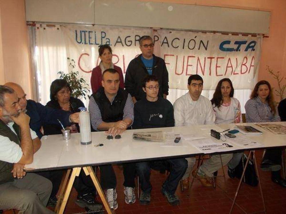 Agrupación docente opositora a Utelpa se suma al paro estatal del jueves