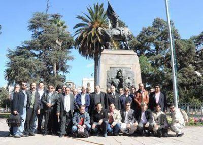 Logias tributaron homenaje  A Belgrano