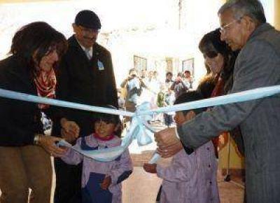 Inauguraron jardín de infantes en Rinconada