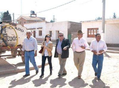 Romero y Escudero siguen de campaña, esta vez estuvieron en La Candelaria
