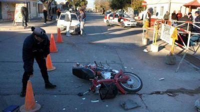 Viajaba en moto el 45% de los muertos en accidentes en 2012