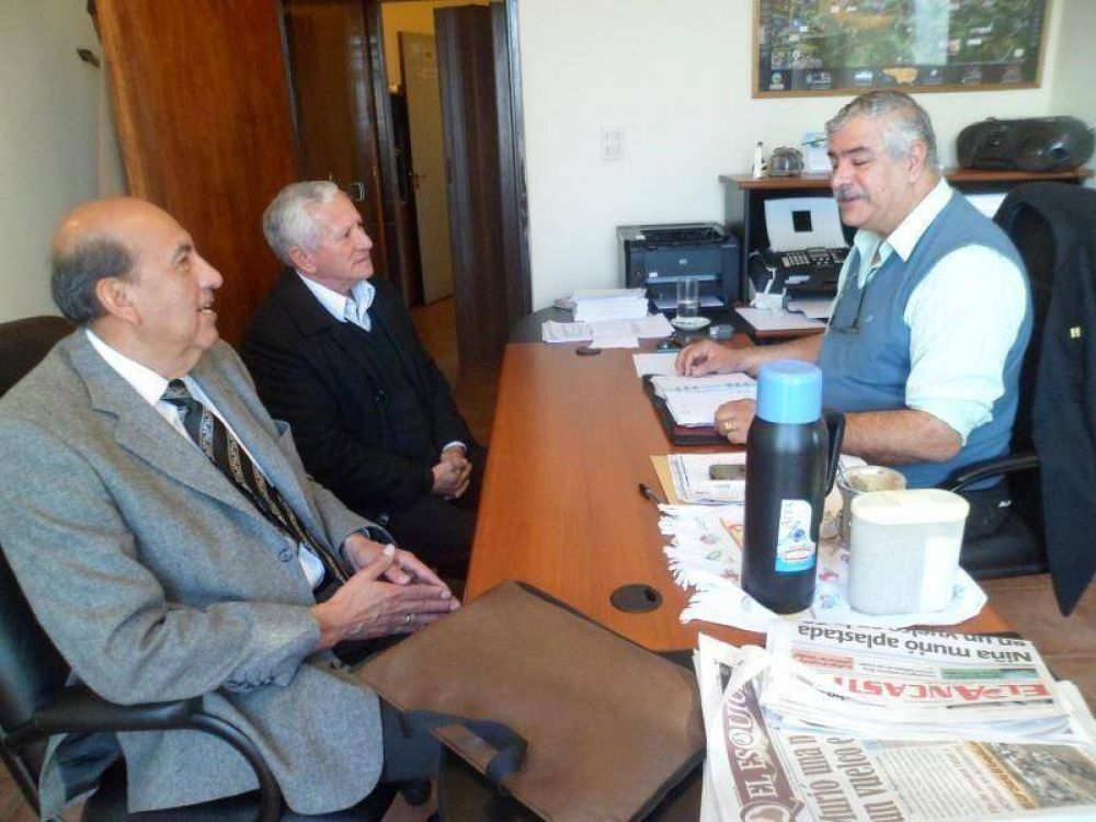 Cabur recibió a los representantes de APROSCA